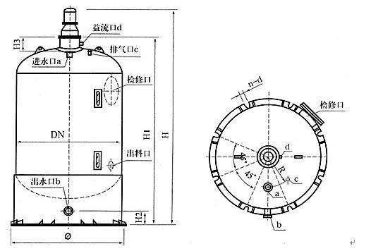 frgx型高效纤维束过滤器产品具有结构先进